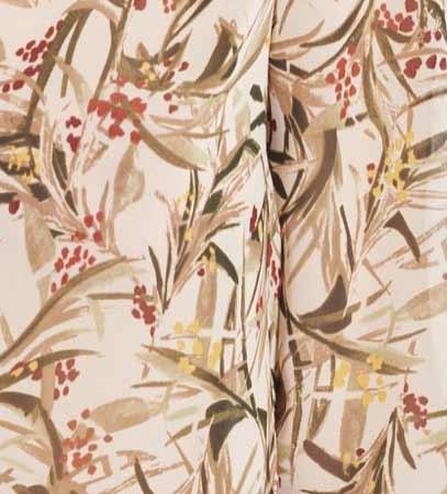 Imprimé motif floral sur fond clair