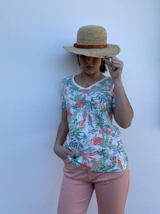 T-shirt femme pastel aloa